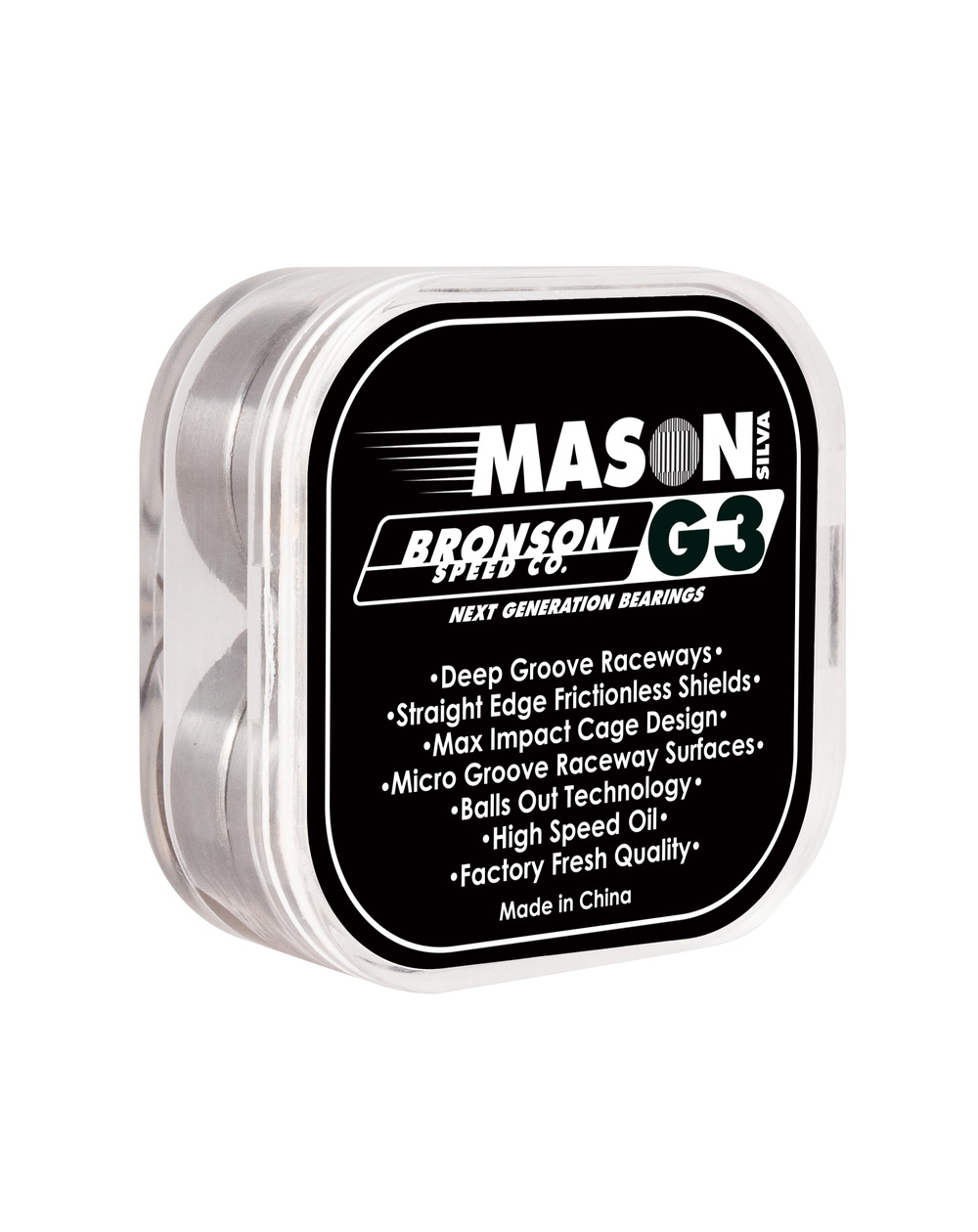 Bronson Speed Co. G3 Pro Mason Silva Skateboard Bearings