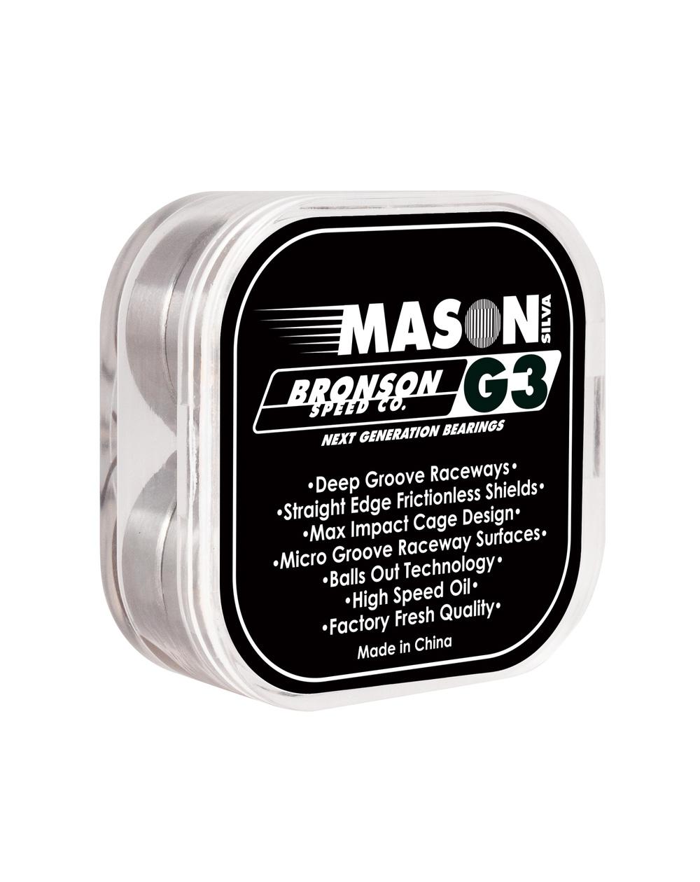 Bronson Speed Co. Rolamentos Skate G3 Pro Mason Silva