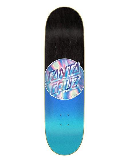 """Santa Cruz Shape Skate Iridescent Dot 8.5"""""""