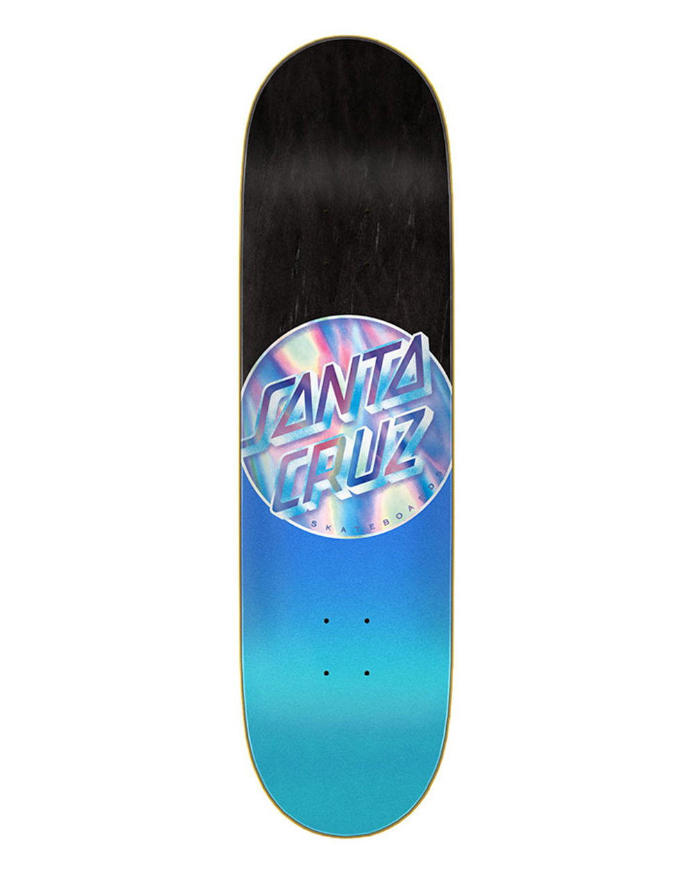 "Santa Cruz Iridescent Dot 8.5"" Skateboard Deck"