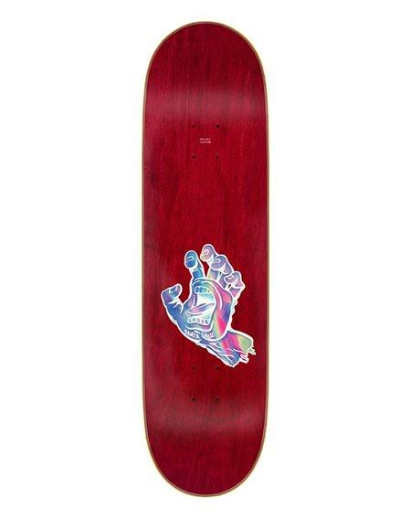 "Santa Cruz Tavola Skateboard Iridescent Dot 8.5"""