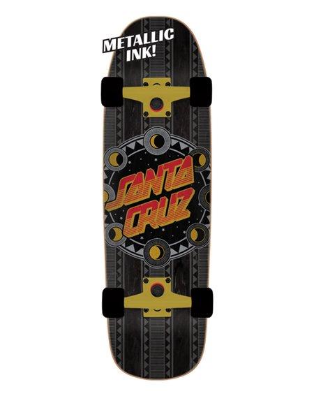 """Santa Cruz Skateboard Cruiser Phase Dot Shaped 32.26"""""""