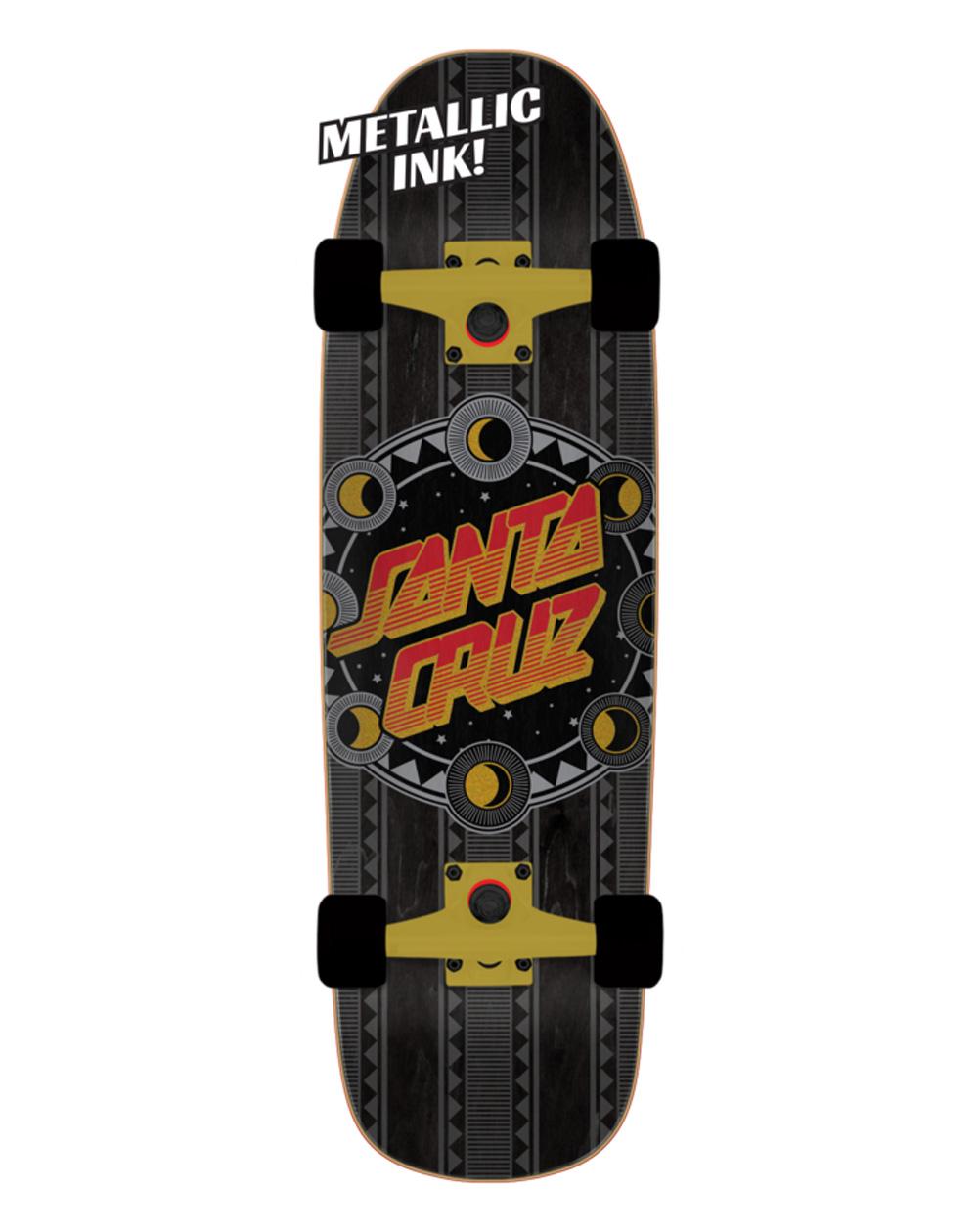 """Santa Cruz Phase Dot Shaped 32.26"""" Skateboard Cruiser"""
