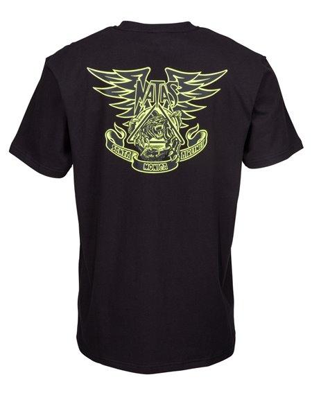 Santa Cruz Natas Panther T-Shirt Homme Black