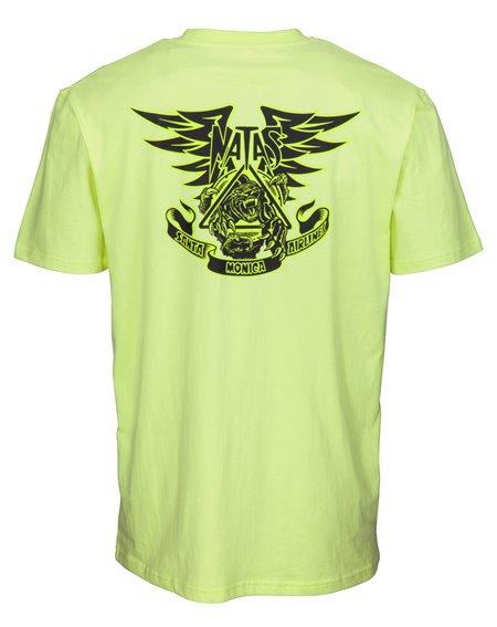 Santa Cruz Natas Panther Camiseta para Hombre Limelight