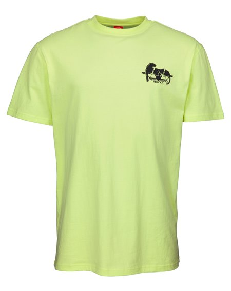 Santa Cruz Natas Panther Camiseta para Homem Limelight