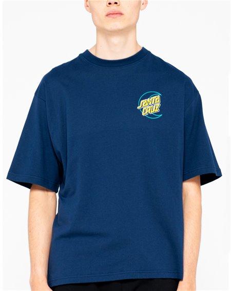 Santa Cruz Empty Moon Dot T-Shirt Uomo Dark Navy