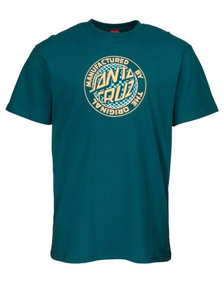 Santa Cruz Fisheye MFG Camiseta para Homem Ink Blue