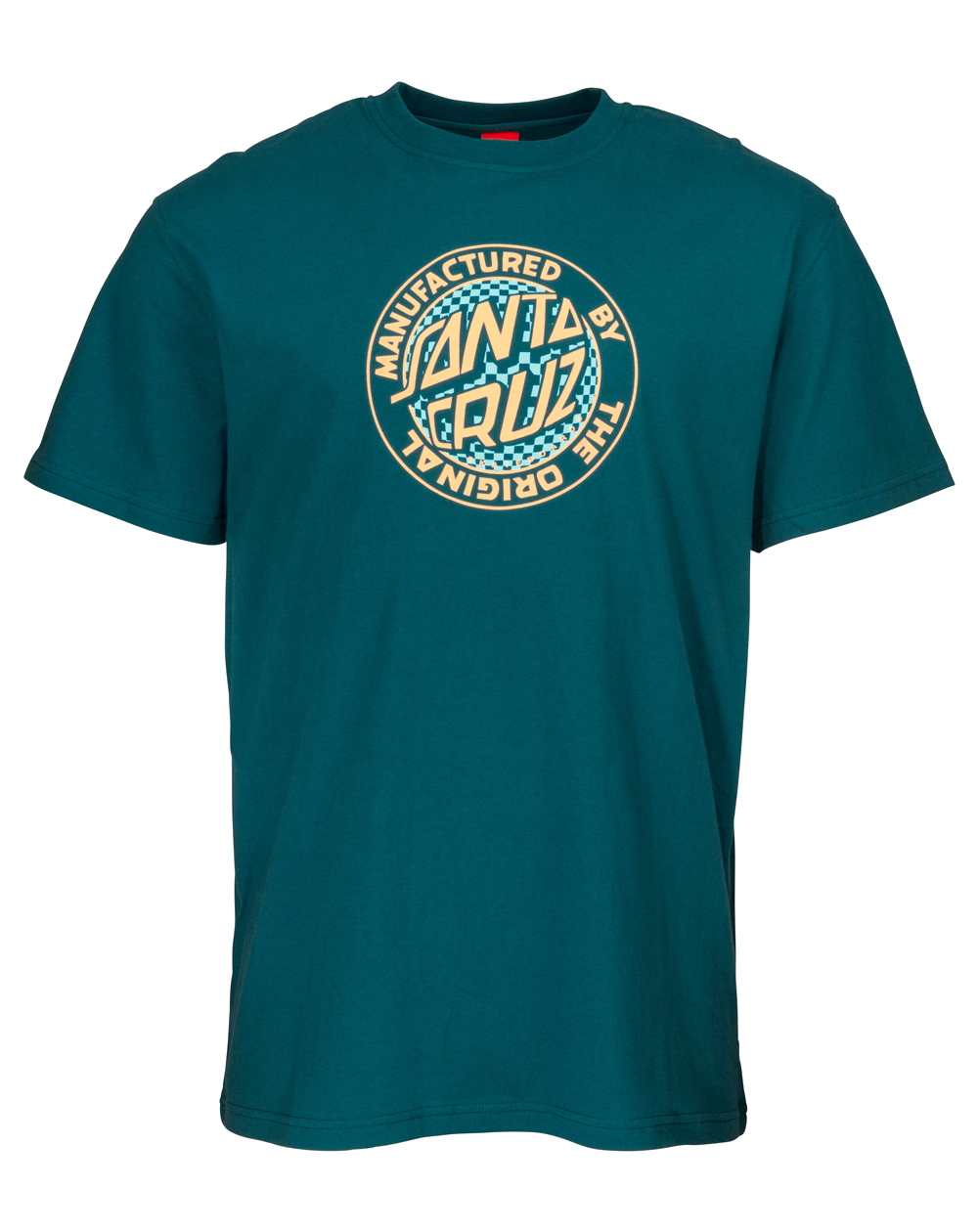 Santa Cruz Fisheye MFG T-Shirt Uomo Ink Blue