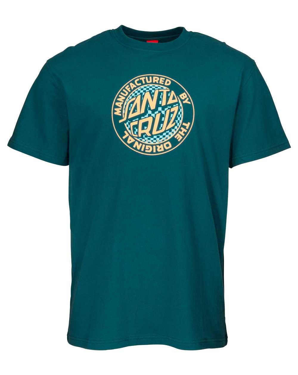 Santa Cruz Men's T-Shirt Fisheye MFG Ink Blue