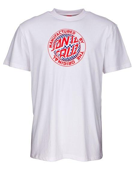Santa Cruz Fisheye MFG T-Shirt Homme White