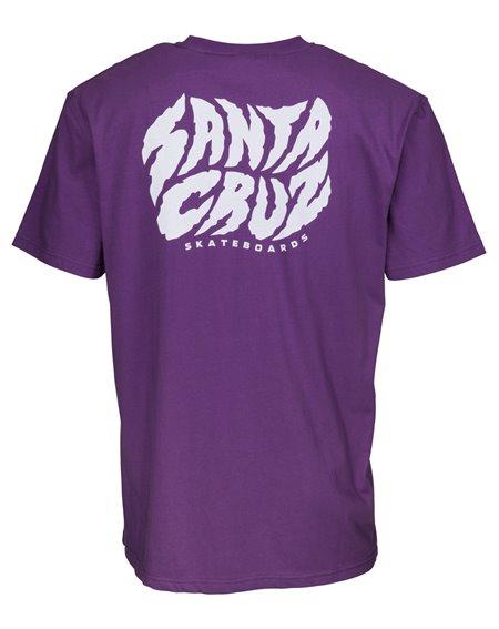 Santa Cruz Herren T-Shirt Surge Purple