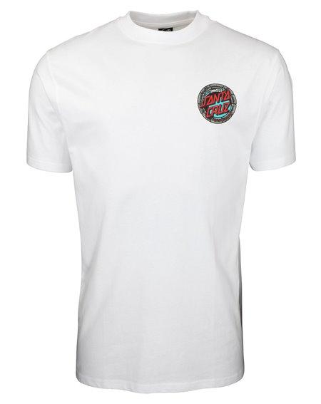 Santa Cruz Pool Snakes Hand Camiseta para Hombre White