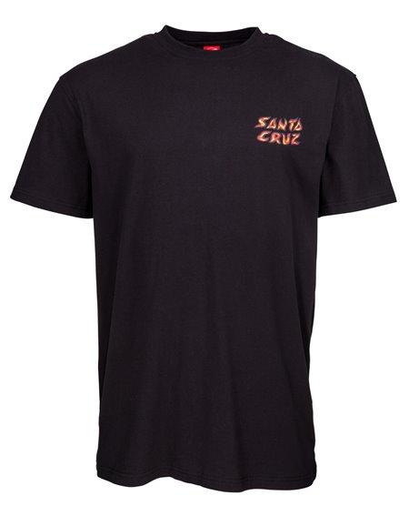 Santa Cruz Herren T-Shirt Hello Steve? Black