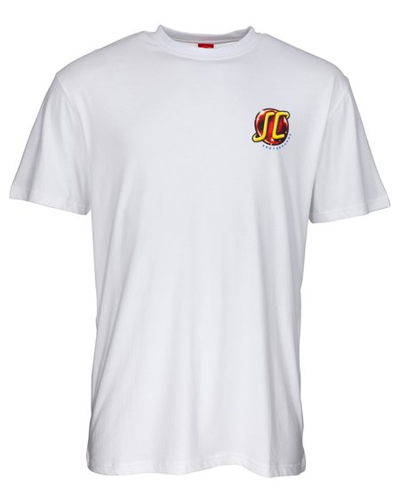 Santa Cruz Hand Wired T-Shirt Homme White