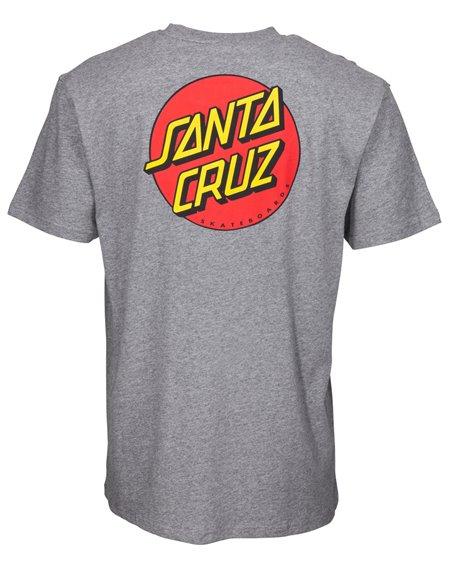 Santa Cruz OG Classic Dot Camiseta para Homem Dark Heather