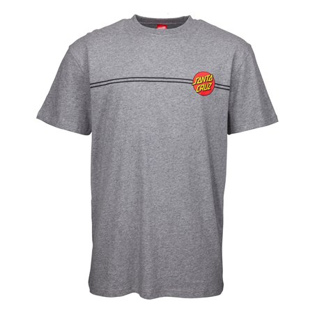 Santa Cruz Men's T-Shirt OG Classic Dot Dark Heather