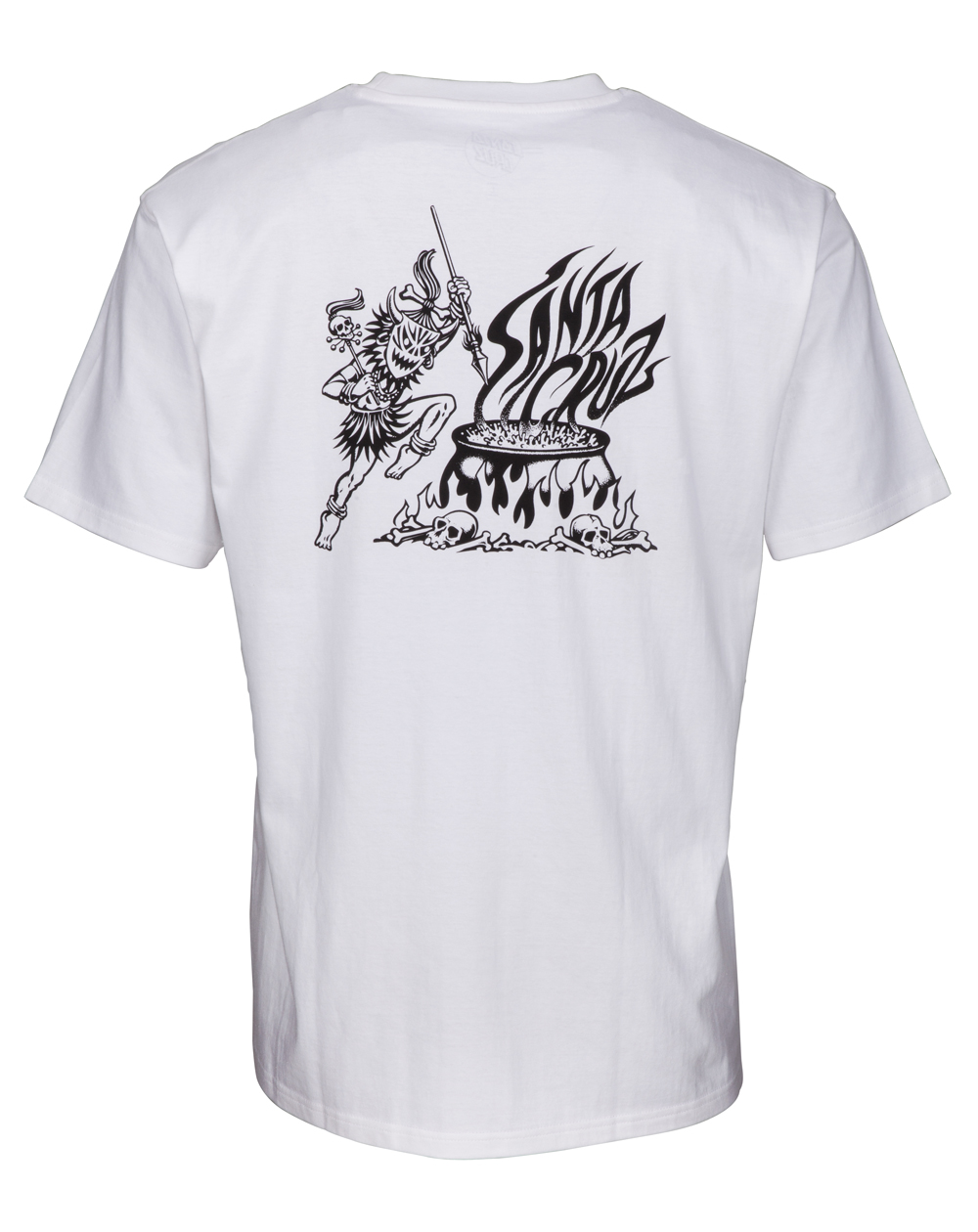 Santa Cruz Salba Witch Doctor T-Shirt Homme White