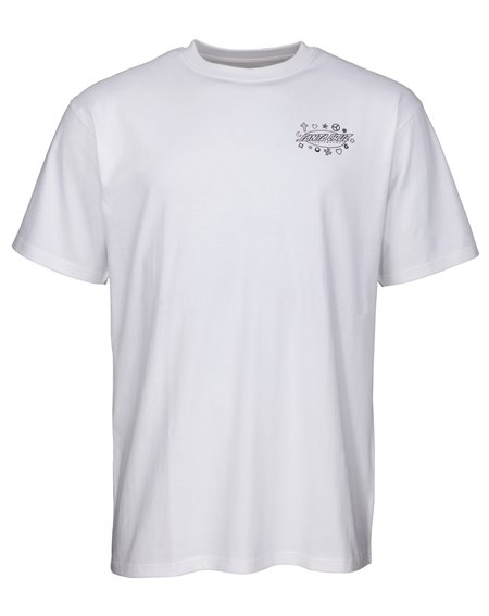 Santa Cruz Salba Witch Doctor T-Shirt Uomo White