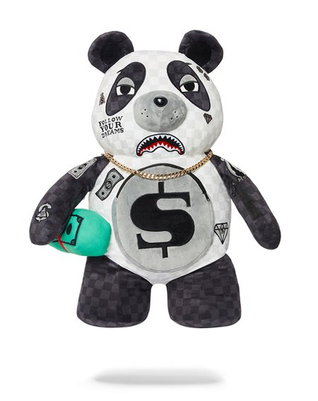 Sprayground Money Bear Teddy Bear Panda Panda Panda Backpack