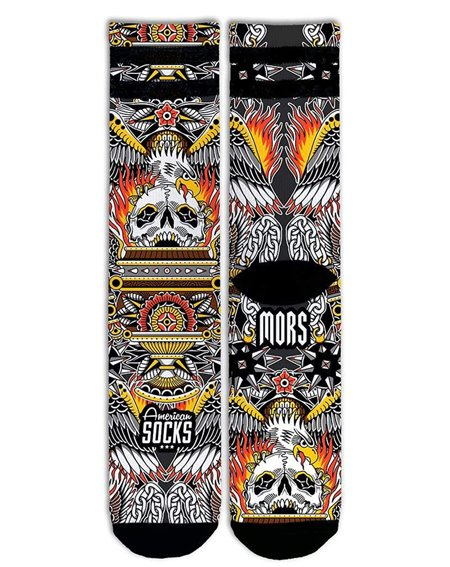 American Socks Eagle of Fire Socquettes Mixte Adulte