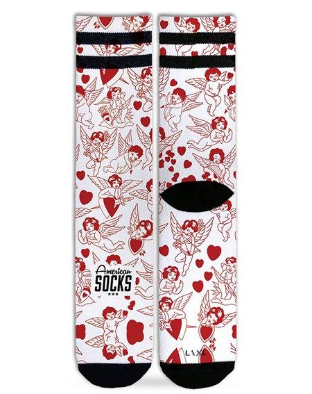American Socks Unisex - Erwachsene Sneakersocken Valentine