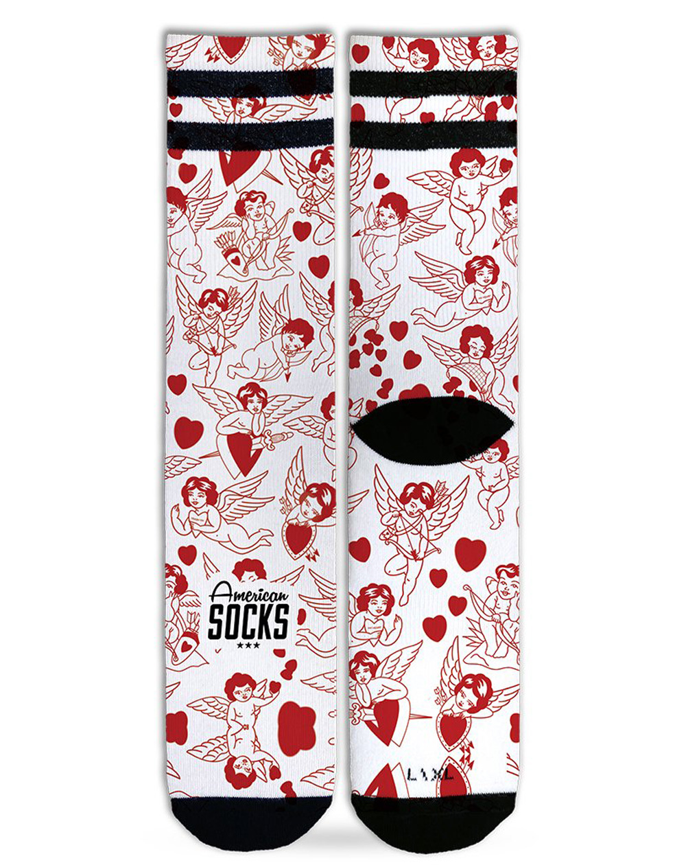 American Socks Unisex Adults Socks Valentine