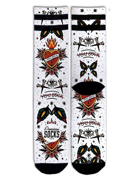 American Socks Unisex - Erwachsene Sneakersocken You Sock