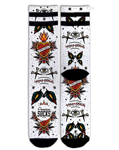 American Socks You Sock Socquettes Mixte Adulte