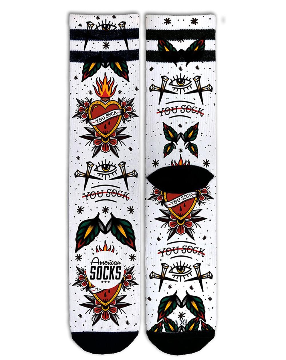 American Socks Unisex Adults Socks You Sock