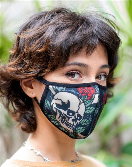American Socks Washable Fabric Face Mask Rise Up