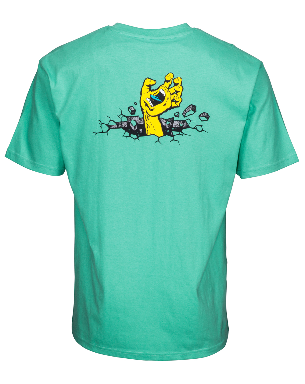 Santa Cruz Herren T-Shirt Hand Wall Spearmint
