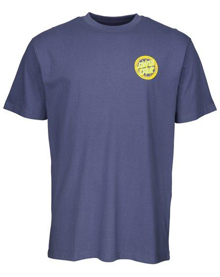 Santa Cruz Hold Back Time Camiseta para Homem Vintage Navy