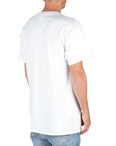 Thrasher Flame T-Shirt Uomo White