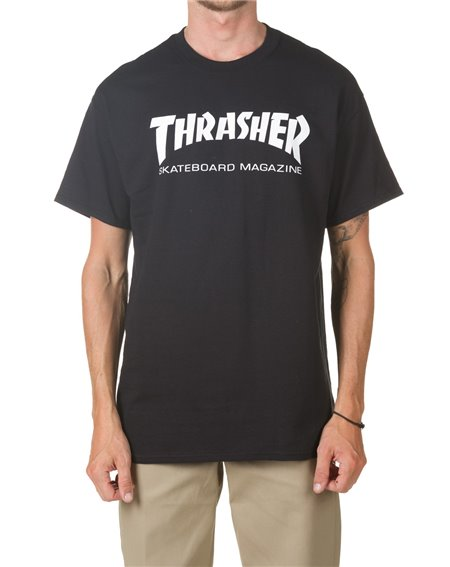 Thrasher Skate Mag Camiseta para Hombre Black