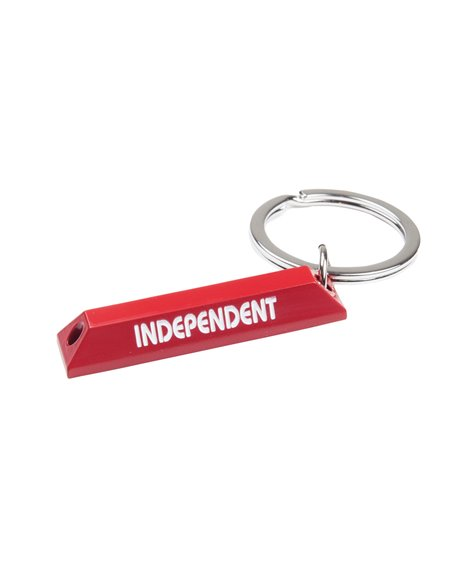 Independent Curb Keychain Red