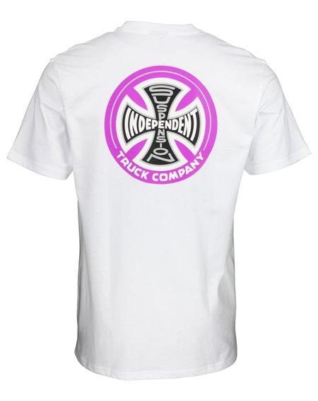Independent Men's T-Shirt Suspension Sketch White