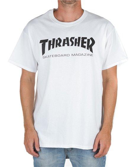 Thrasher Skate Mag Camiseta para Homem White