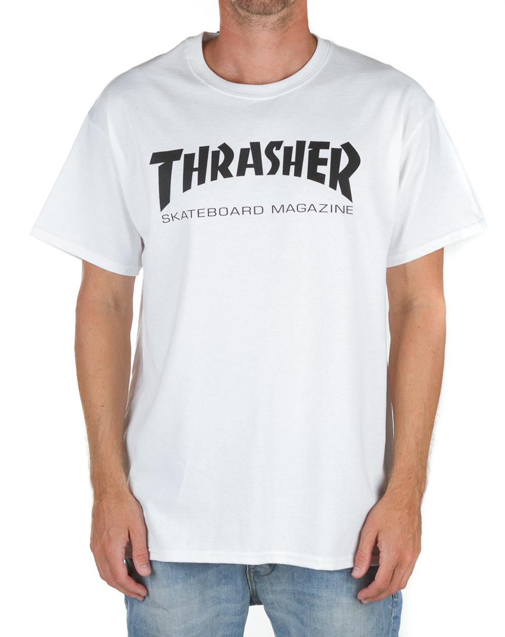 Thrasher Men's T-Shirt Skate Mag White