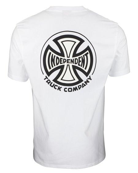 Independent Herren T-Shirt B/C White