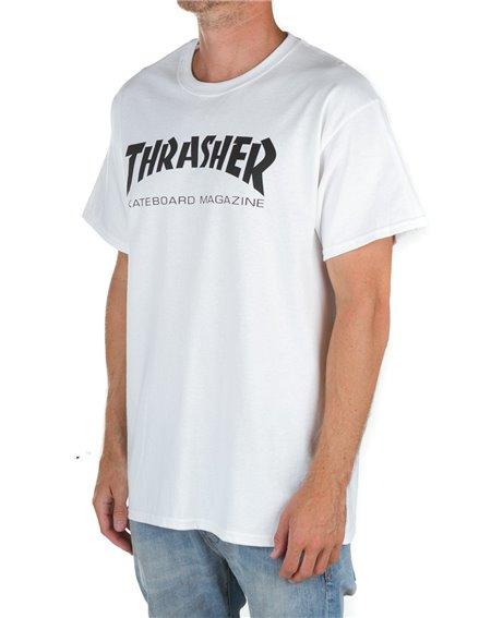 Thrasher Skate Mag T-Shirt Homme White