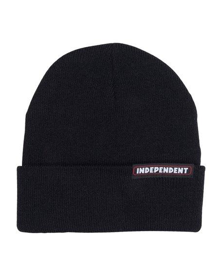 Independent Men's Beanie Bar Black