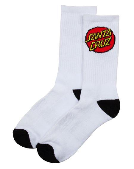 Santa Cruz Herren Sneakersocken Classic Dot Black/White 2 er Pack