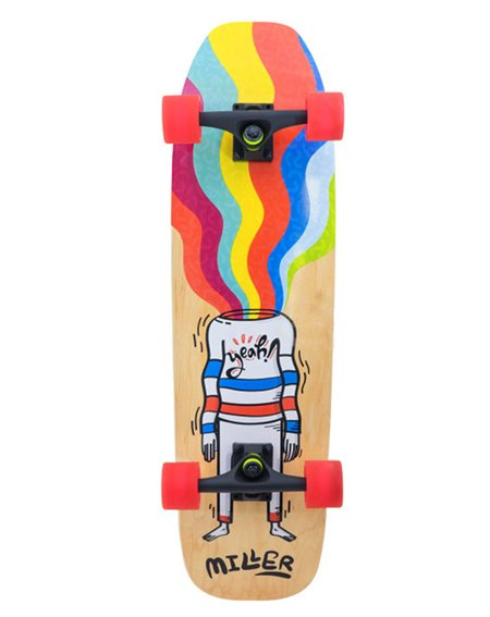 "Miller Clowning 31"" Skateboard Cruiser"