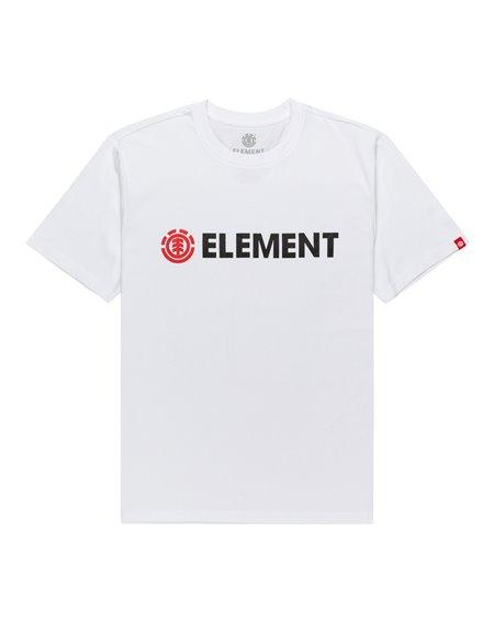 Element Blazin T-Shirt Uomo Optic White