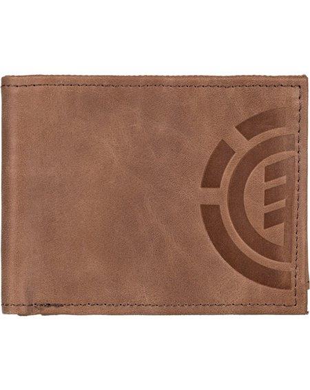 Element Daily Elite Wallet Brown