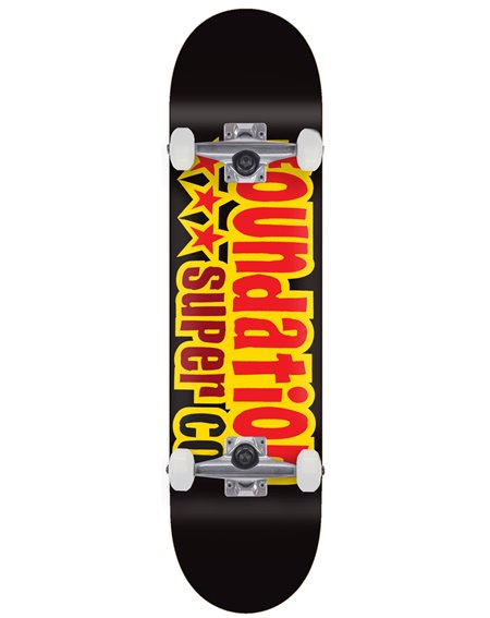 "Foundation Skateboard Complète 3 Star 8.13"" Black"