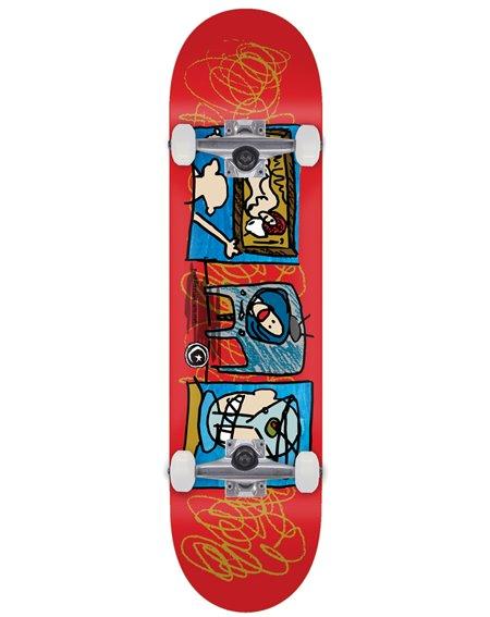 "Foundation Television 8.50"" Complete Skateboard"