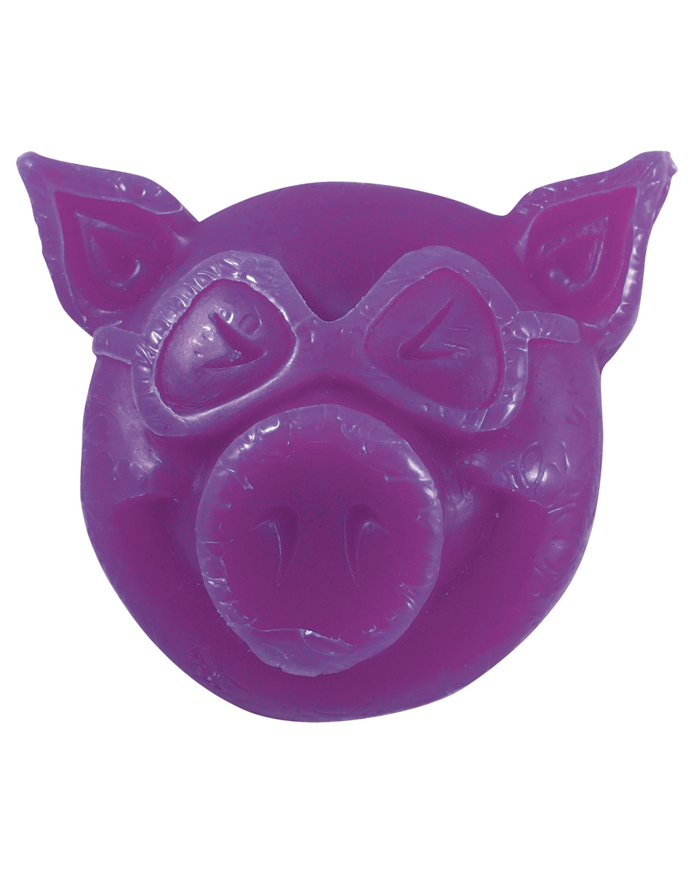 Pig Wheels Pig Head Skateboard Wax Purple