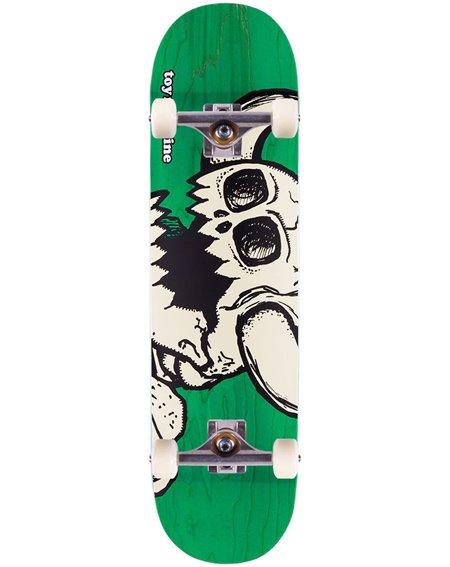 "Toy Machine Skateboard Dead Monster 8"" Green"
